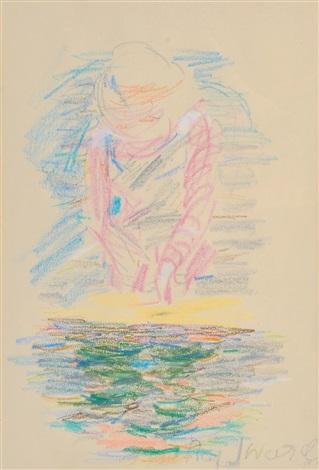 girl by the water by rafael wardi