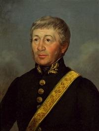 porträt eines k.k. hofbeamter by josef ginovsky