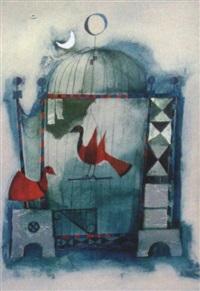 vögel im offenen käfig by rosina wachtmeister