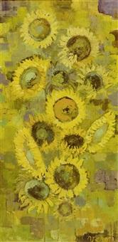 soleils au soleil (+ composition florale; 2 works) by verone