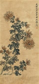 菊花 (chrysanthemum) by deng tiexian