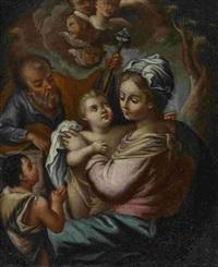 heilige familie mit dem johannesknaben by anonymous-italian (17)