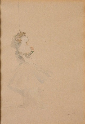dancer by jean louis forain