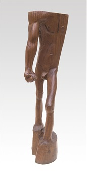 homme nu debout by oswald stimm