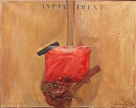 enveloppe rouge by tadeusz kantor