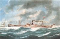 dänischer dampfer