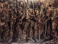 obreros de sestao (from hombres de vizcaya series) by waldo aguiar