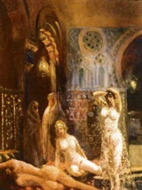 au harem by pierre jaillet