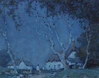 a devonshire hamlet by a. moulton foweraker