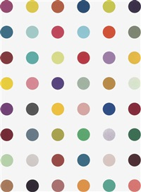 ethyl fluoroacetate by damien hirst