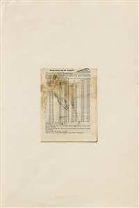 elch / hasenblut by joseph beuys