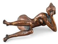 resting nude by matti haupt
