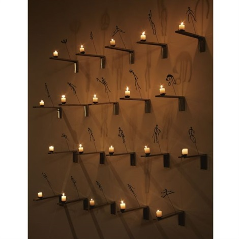 shadows from the lessons of darkness (in 20 parts) by christian boltanski