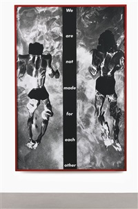 untitled (we are not made for each other) by barbara kruger