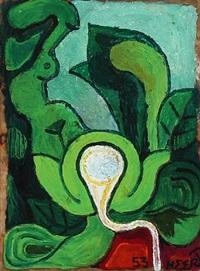 det spirende forår, (the emerging spring) by henry heerup