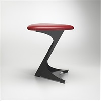 stool from the tabourettli theatre by santiago calatrava