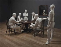the dinner table by george segal