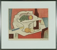 still life with fruit by georg jacobsen