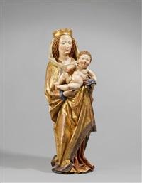 madonna mit christuskind by hans multscher