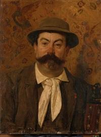 portrait de monsieur louis pretet by jean paul laurens