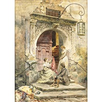 the doorway by lawrence carmichael earle