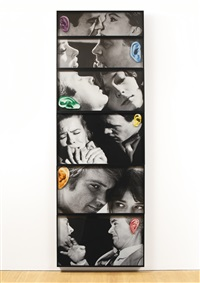 noses & ears, etc. (part four): twelve persons (six altered) (in 6 parts) by john baldessari