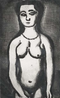 nu by georges rouault
