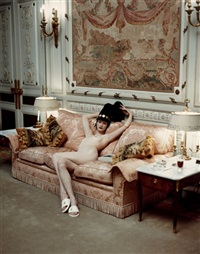 kristen at the ritz by steven meisel