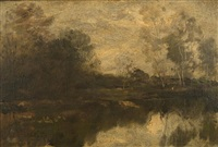 landscape by william morris hunt