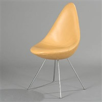 the drop chair by arne jacobsen