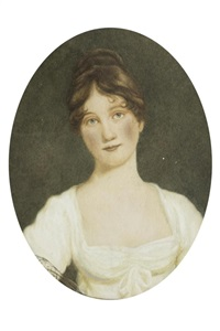 portrait de mary anne gurnell, épouse du major john armstrong by john opie