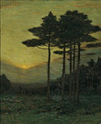 the sunset hour by charles warren eaton