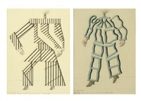 sans titre (2 works) by roberto aizenberg
