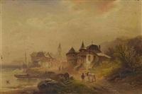 französische küste by nicolai von astudin