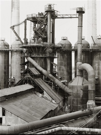 blast furnace ensley alabama usa by bernd and hilla becher