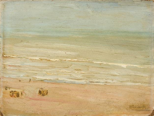 strand und meer in zandvoort by max liebermann