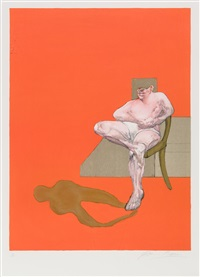 triptych (right part) by francis bacon