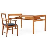 a marianne von münchow swedish modern beech desk with chair by marianne von münchow