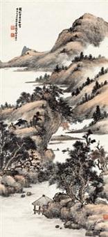 溪山秋霁 by xiao junxian