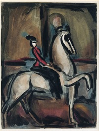 amazone by georges rouault
