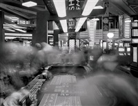 craps table, planet hollywood casino, las vegas by matthew pillsbury