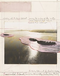 surrounded island by christo and jeanne-claude