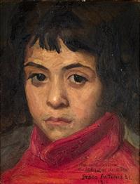 retrato de niña by pedro antonio martínez