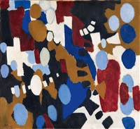 in blockformen by ernst wilhelm nay
