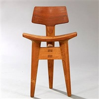 sculptor's chair by jens quistgaard