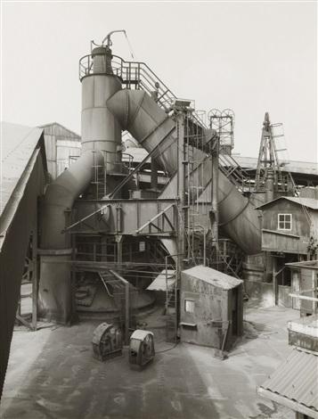 blast furnace, liège-seraing, belgium by bernd and hilla becher