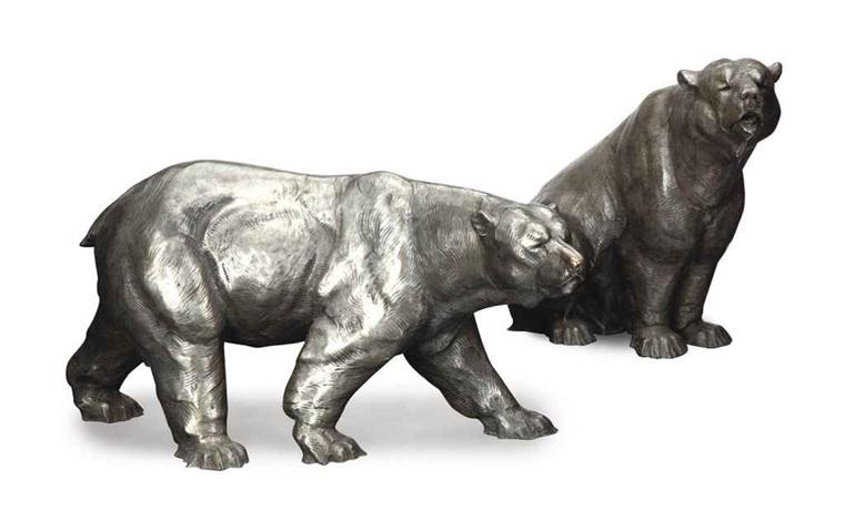 ice bear (+ bear; 2 works) by dan ostermiller