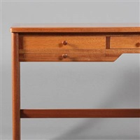 freestanding desk (model 141) by rigmor andersen