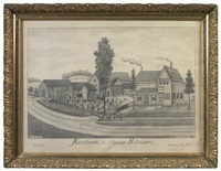 residence of mrs. clarissa hilsinger, carlisle, schoharie co., ny by fritz g. vogt