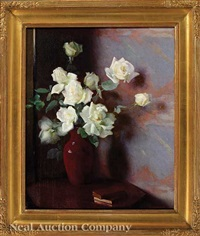 still life with roses by marguerite stuber pearson